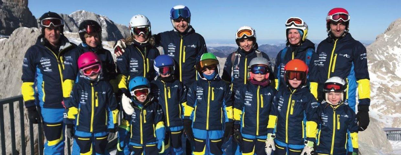 neue Einkleidung der Ski-kids Aigen